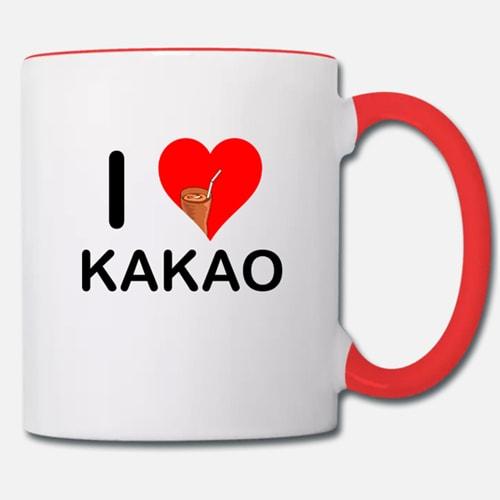Bild Tasse mit Motiv I Love Kakao